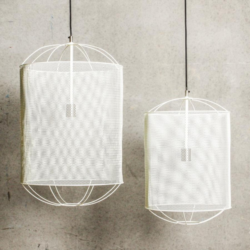 Banos Iron Cage Industrial Pendant Light