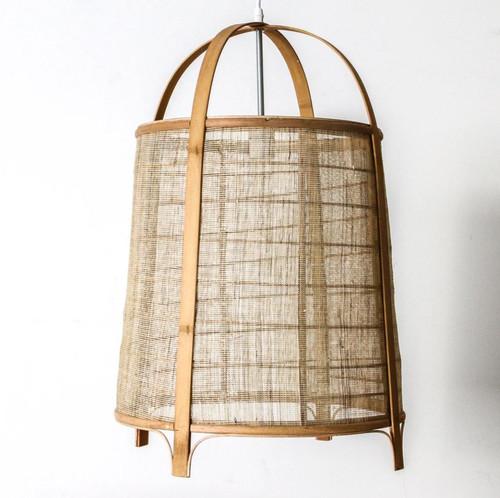 Nara Cane Drum Pendant Light