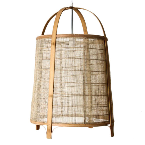Nara Cane Drum Pendant Light