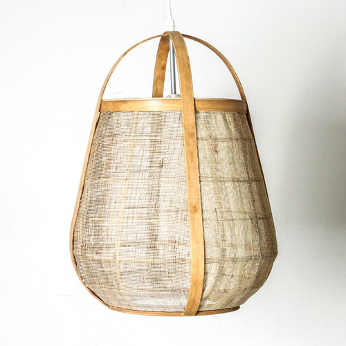 Osoko Cane Basket Natural Pendant Light