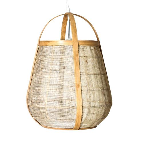 Osoko Cane Basket Natural Pendant Light