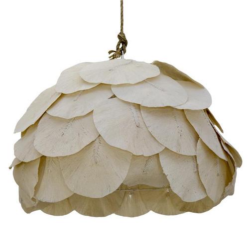 Petal Woven Cotton Leaves Pendant Light