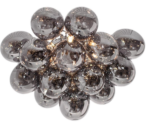 Gross Grande Smoke Glass Ceiling Light
