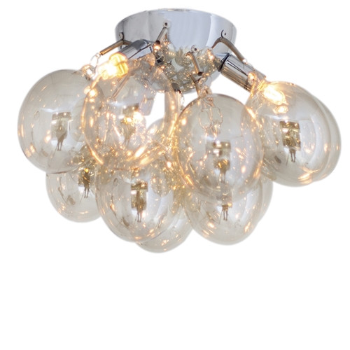 Gross Amber Glass Ceiling Light