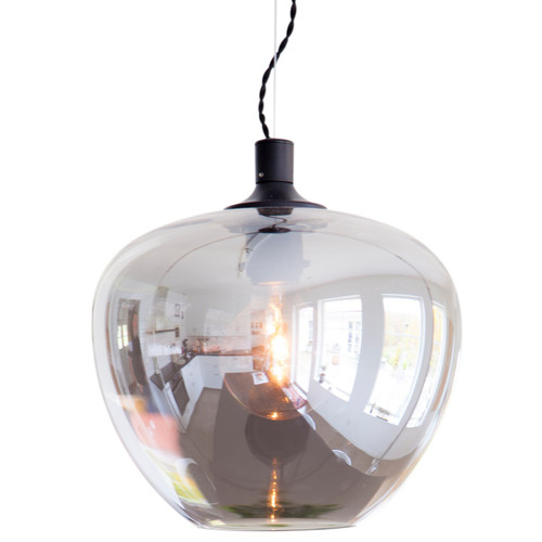 Bellissimo Smoke Glass Pendant Light