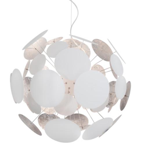 Planet Thin White Plates Modern Pendant Light