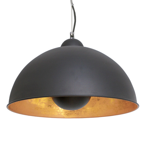 Captain Black Dome Metal Pendant Light