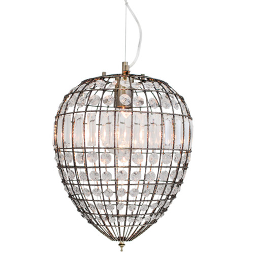 Amadeus Glass Prism Pendant Light