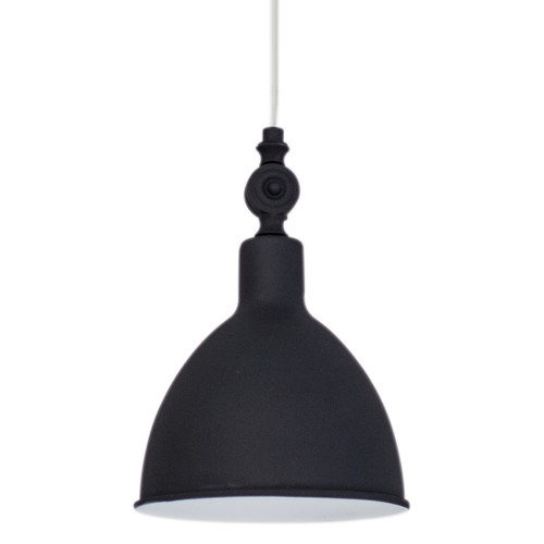 Bazar Small Black Industrial Window Pendant Light