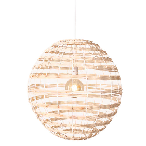 Broom Woven Rattan Pendant Light - Natural