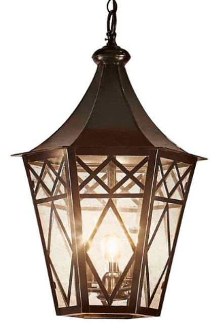 Tooson Black Lantern Pendant Light