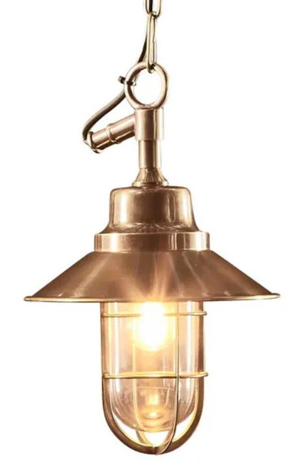 Liverpool Outdoor Brass Classic Pendant Light