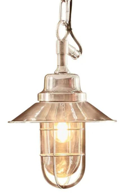 Liverpool Outdoor Silver Classic Pendant Light