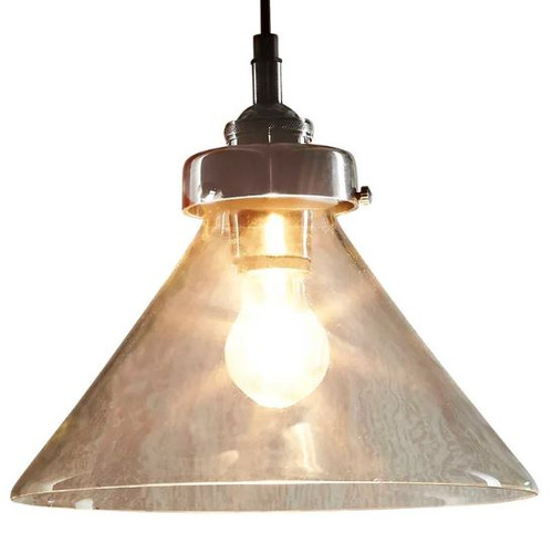 Francis Cone Glass Pendant Light