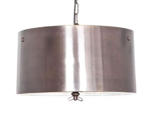 Lincon Copper Drum Pendant Light