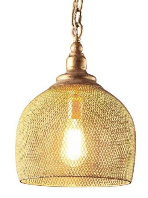 Alexa Bell Copper Pendant Light - Large