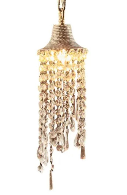 Brielle Antique Brass Pendant Light