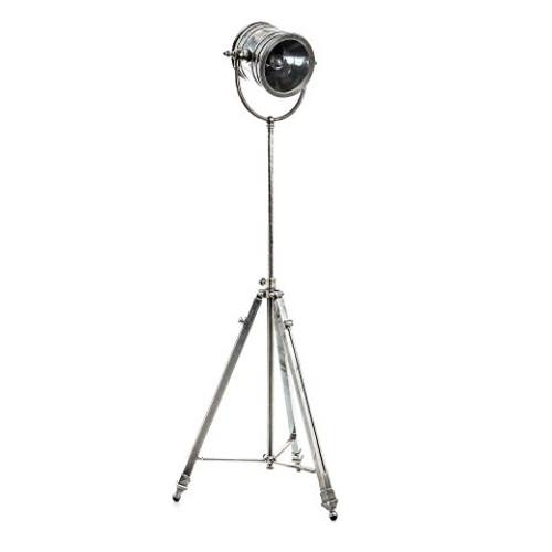 Wesley Spotlight Antique Silver Floor Lamp