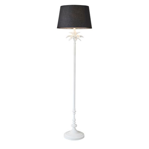 Casablanca White Floor Lamp