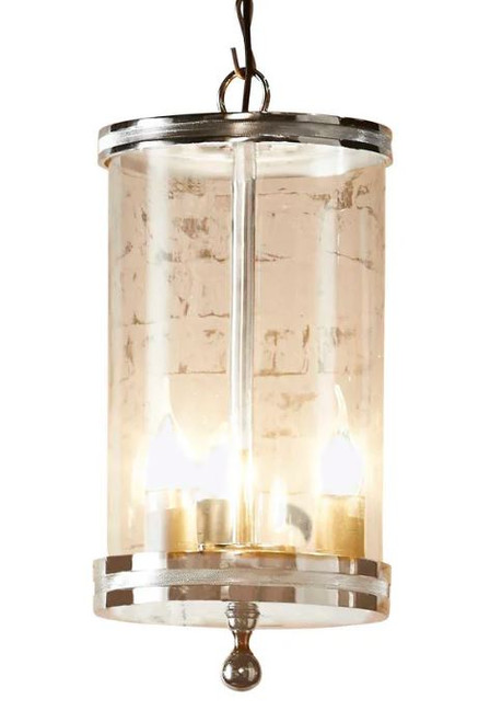 Oxford Glass Cylinder Pendant Light