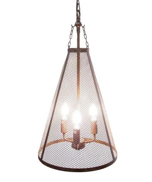 Maxwell Funnel Bronze Pendant Light