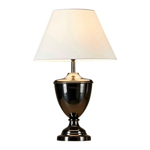 Earnest Black Urn Table Lamp