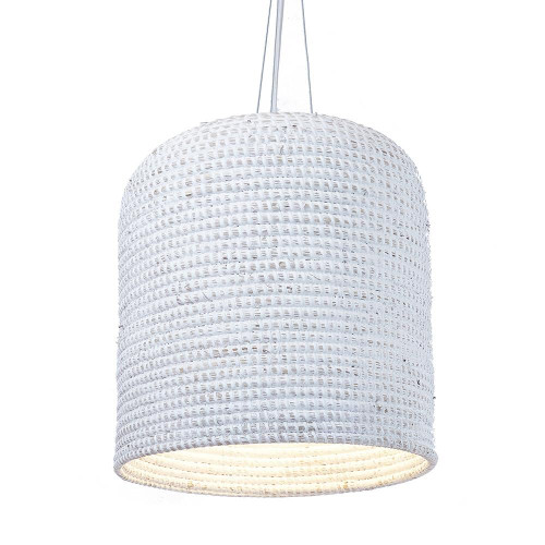 Culver Cream Basket Pendant Light