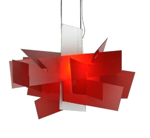 Replica Foscarini Big Bang Chandelier in Red