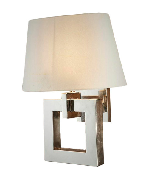 Brownsville Nickel Wall Light