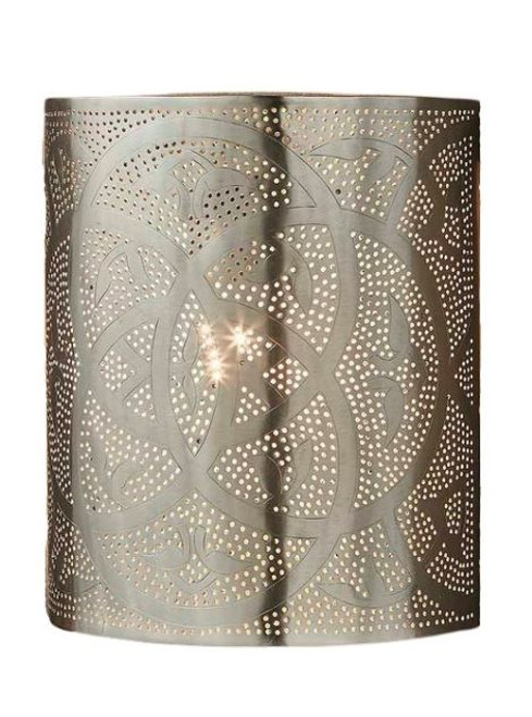 Rochester Perforated Moroccan Wall Light
