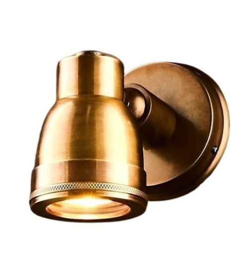 Pittsford Outdoor Antique Brass Wall Light