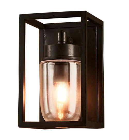 Waldorf Classic Black Outdoor Wall Light