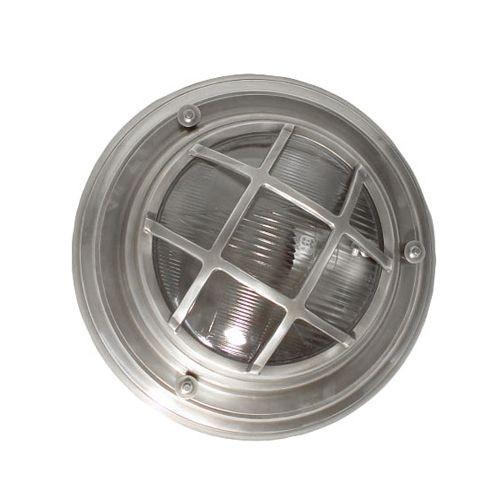 Jayden Outdoor Silver Porthole Wall Light
