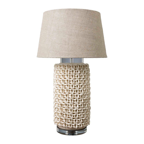 Newman Cream Cylinder Table Lamp