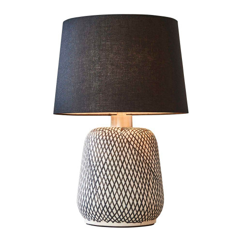 Fledger Brown Table Lamp
