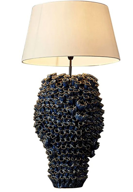 Salma Blue Coral Table Lamp