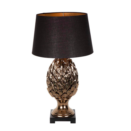 Marris Tropical Brass Table Lamp