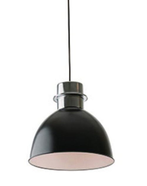 Clayton Black Dome Pendant Light