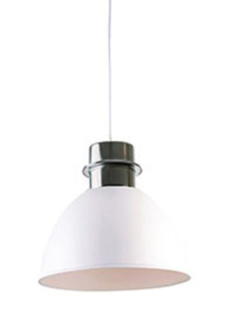 Clayton White Dome Pendant Light - Large