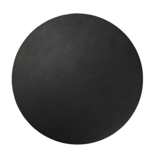 Vaughn Round Black LED Wall Lamp - Large