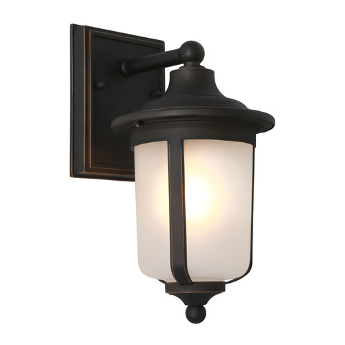 Dayton Bronze Outdoor Wall Light