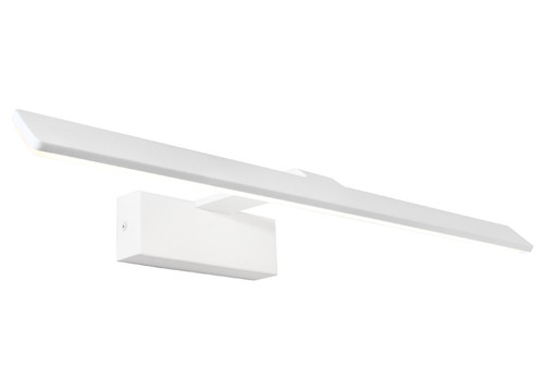 Rex White Acrylic  LED Picture Light - Large