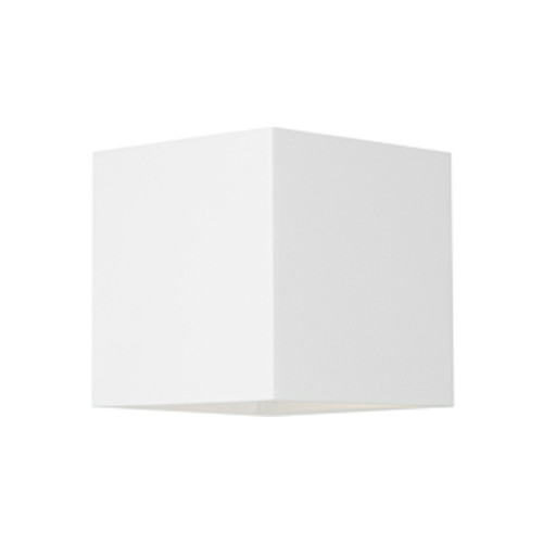 Glenville 2 Light White LED Outdoor Wall Light