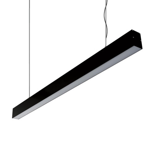 Max Linear Bar Black Suspension Light