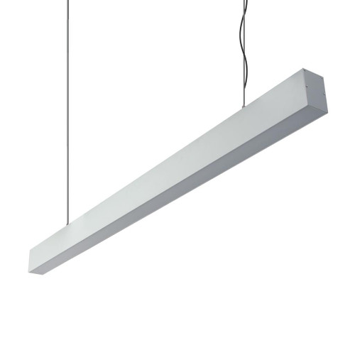Max Linear Bar White Suspension Light