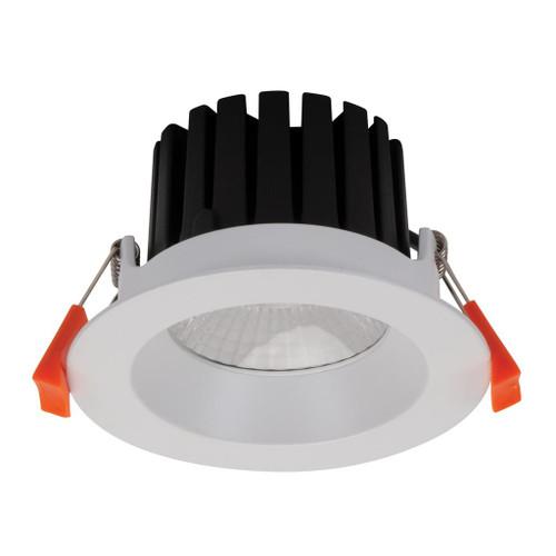 Aqua 13W Round Recessed LED Downlight Kit - White