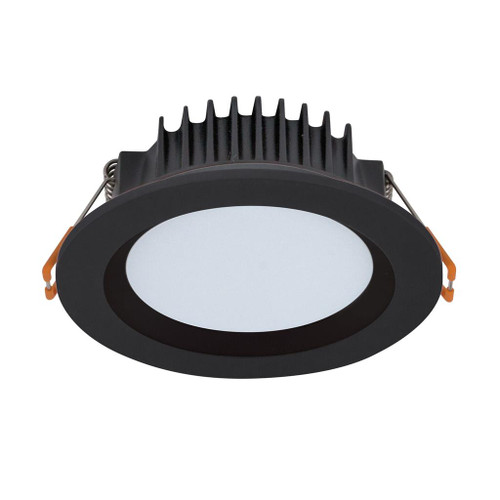 Boost 10W Round Recessed LED 3CCT Downlight Kit - Black