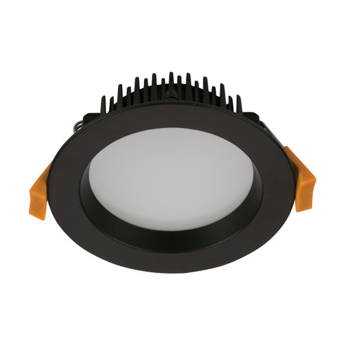 Deco 13W Round Recessed LED Downlight Kit - Black