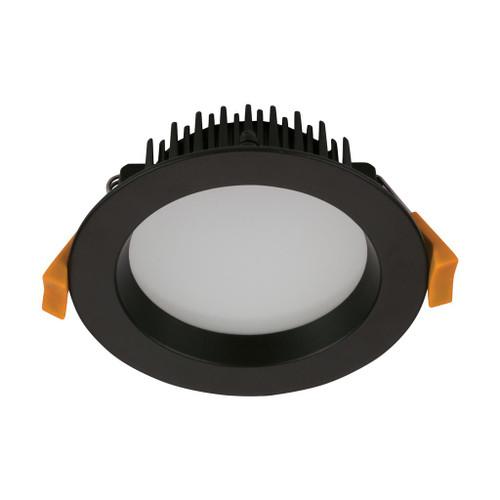 Deco 13W Round Recessed LED Downlight Kit - Black