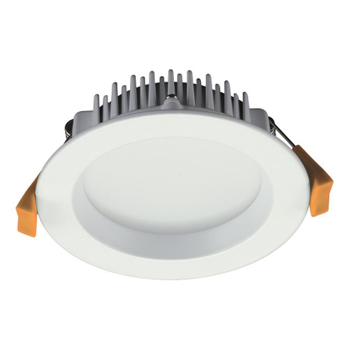 Deco 13W Round Recessed LED Downlight Kit - White